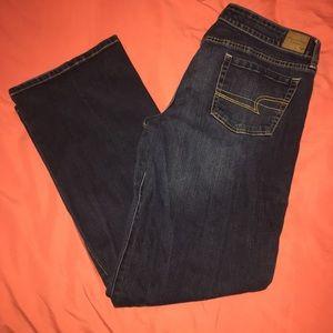 18 long favorite boyfriend jeans AEO